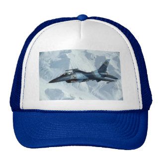F-16 FIGHTING FALCON TRUCKER HAT