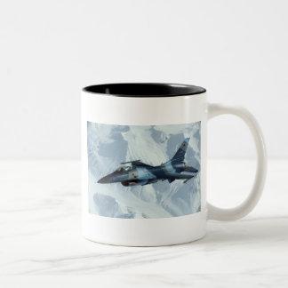 F-16 FIGHTING FALCON Two-Tone COFFEE MUG