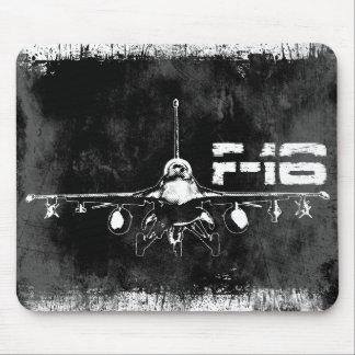 F-16 halcón que lucha Mousepad