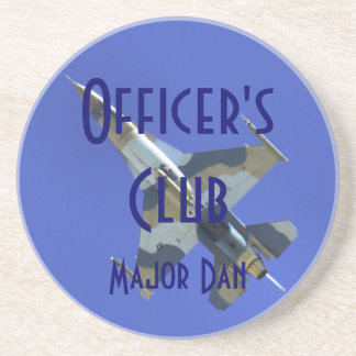 F-16 Officers Club Coaster
