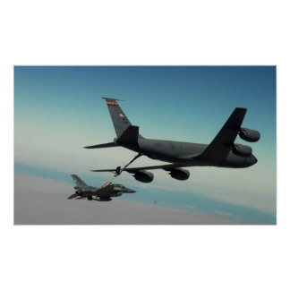 F-16 Refuel Poster