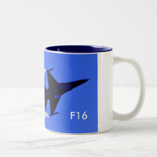 F-16 Smokin' Two-Tone Coffee Mug