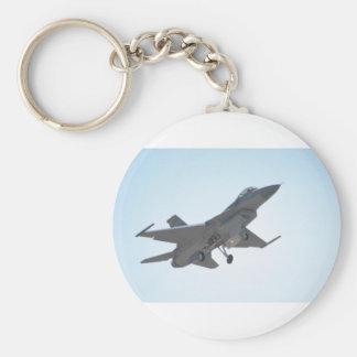 F-16 Taking Off Key Chain
