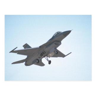 F-16 Taking Off Postcard