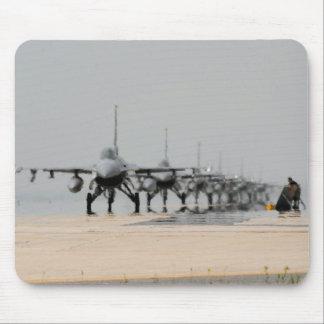 F-16 THUNDER MOUSE PAD