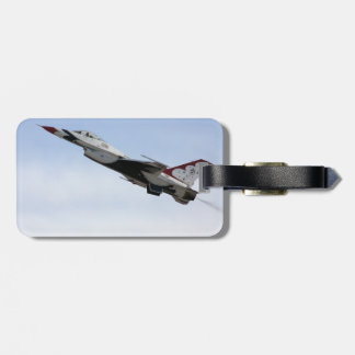 F-16 Thunderbird In Flight Bag Tag