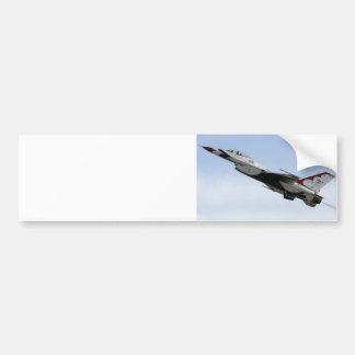 F-16 Thunderbird In Flight Car Bumper Sticker