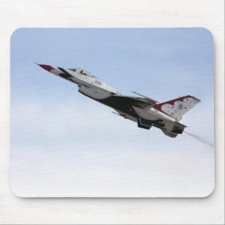 F-16 Thunderbird In Flight Mouse Pad