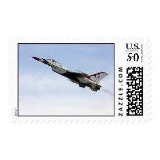 F-16 Thunderbird In Flight Postage
