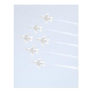 F-16 Thunderbirds Delta Formation Flyer