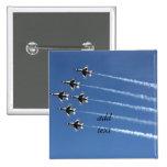 F-16 Thunderbirds Delta Formation Pinback Buttons