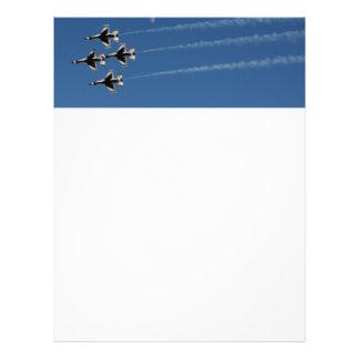 F-16 Thunderbirds Diamond  Formation Flyer