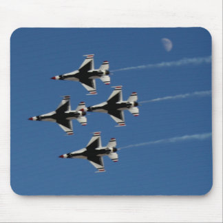 F-16 Thunderbirds Diamond  Formation Mouse Pad