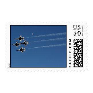 F-16 Thunderbirds Diamond  Formation Postage