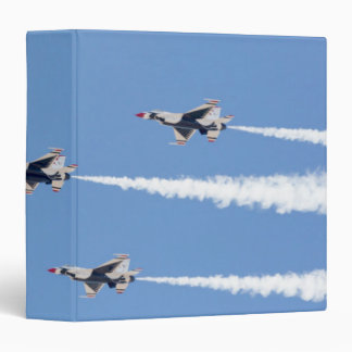 F-16 Thunderbirds flying the five-card formation Binder
