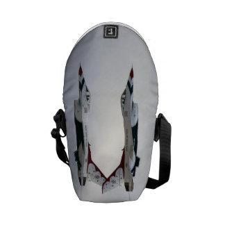 F-16 Thunderbirds Maneuver - Inverted Messenger Bag