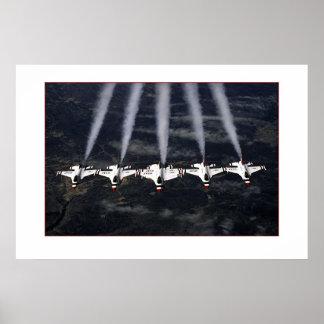 F-16 Thunderbirds Poster