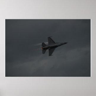 F-16C del equipo del este de la versión parcial de Posters