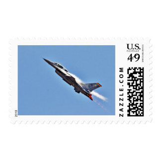 F 16s Jets Fighters Airplanes Postage Stamp