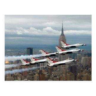 F-16's New York City Postcard