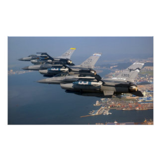 F-16's Poster