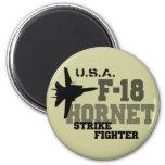 F-18 avispón - combatiente de la huelga iman de frigorífico