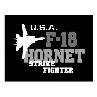 F-18 avispón - combatiente de la huelga postal