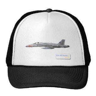 F-18 con la escuadrilla azul de los diamantes VFA- Gorros