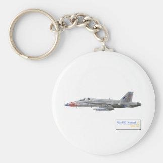 F-18 con la escuadrilla azul de los diamantes VFA- Llaveros