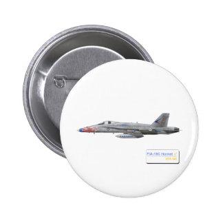 F-18 con la escuadrilla azul de los diamantes VFA- Pins
