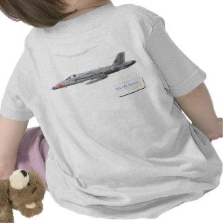 F-18 con la escuadrilla azul de los diamantes VFA- Camisetas