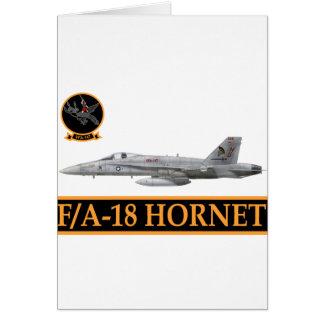 F-18 con la escuadrilla de los ARGONAUTAS VFA-147 Tarjeton