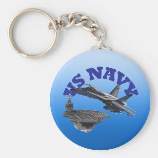 F 18 Hornet and the USS Truman Keychain