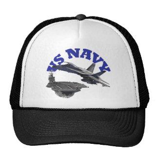 F 18 Hornet and the USS Truman Trucker Hat