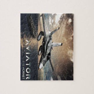 F-18 Hornet Fighter Jet Jigsaw Puzzle