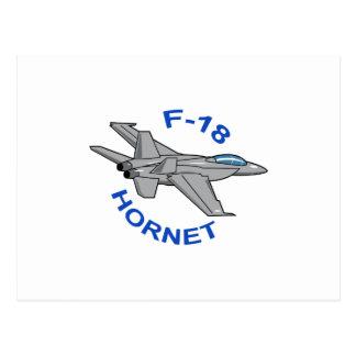 F-18 Hornet Postcard
