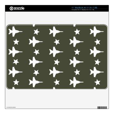 "F-18 Pattern 11"" MacBook Air Decal"