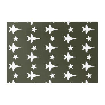 F-18 Pattern Acrylic Print