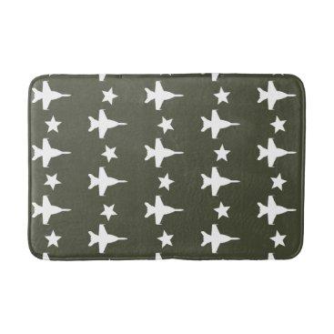 F-18 Pattern Bath Mat