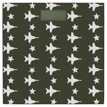 F-18 Pattern Bathroom Scale