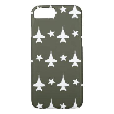 F-18 Pattern iPhone 8/7 Case