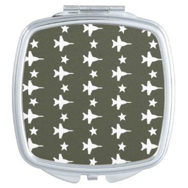 F-18 Pattern Compact Mirror