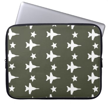 F-18 Pattern Computer Sleeve
