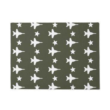F-18 Pattern Doormat