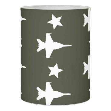 F-18 Pattern Flameless Candle