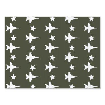 F-18 Pattern Lawn Sign