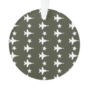 F-18 Pattern Ornament