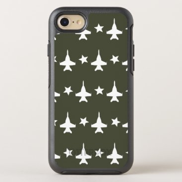 F-18 Pattern OtterBox Symmetry iPhone 8/7 Case
