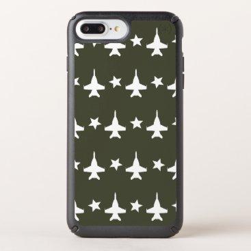 F-18 Pattern Speck iPhone Case