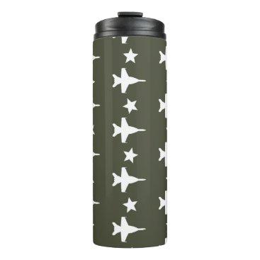 F-18 Pattern Thermal Tumbler